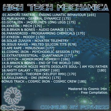 high tech mechanica psytrance 2012