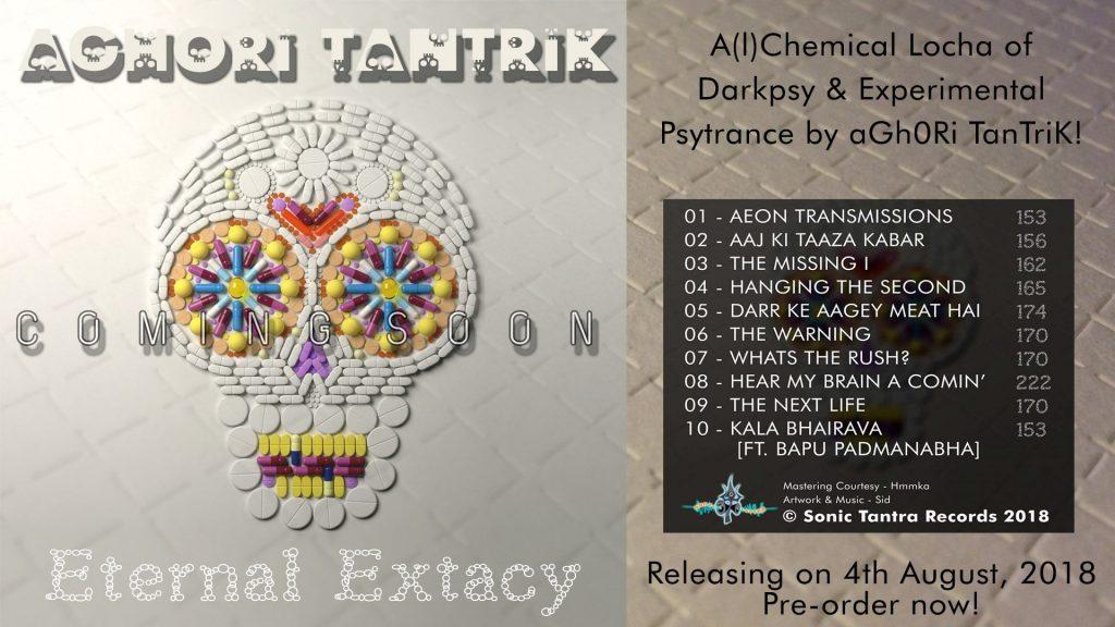 preorder dark psytrance album by aghori tantrik on sonic tantra