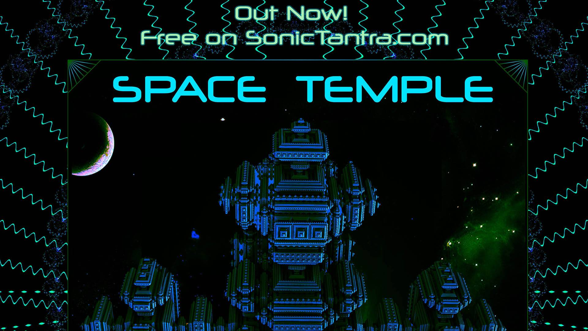 Space Temple out now! 15 of the best hitech psytrance artists from around the world!