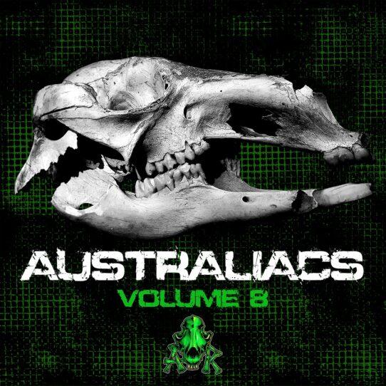 VA-Australiacs-Vol-8-2020-Dark-Psytrance-Psycore-Music